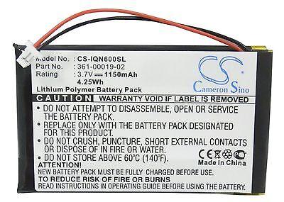 BATTERIA per GARMIN NÜVI NUVI 360 360t T ACCU Batteria