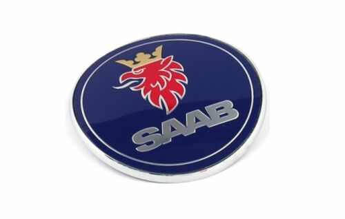 Original Saab Emblème Arrière Saab 9-3 II Break Cabriolet 04-12 Limousine 08-12 12844160