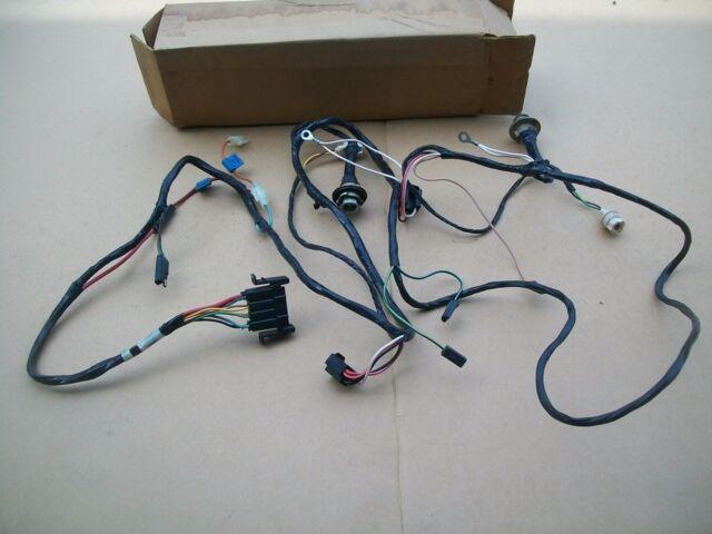 nos mopar 1977 1978 dodge truck ramcharger forward headlight lamp wiring  harness
