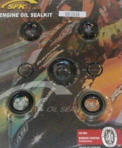 Kreidler Florett TM RS RSH RMC L 5 Gang Simmerring Simmerringsatz Motor 8 teilig