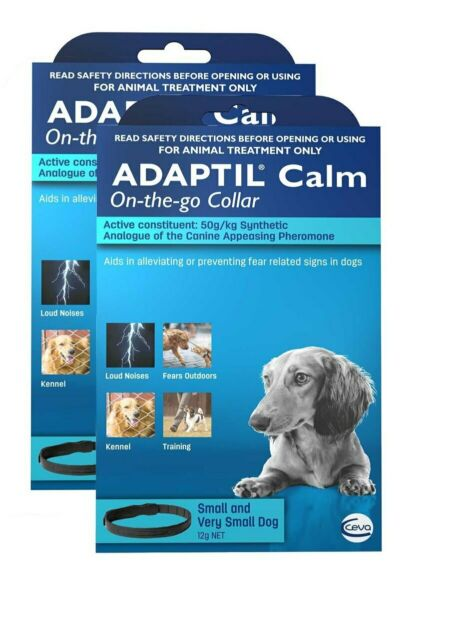 Adaptil Calm Calming Collar for Small & Very Small Dogs 45cm - 2 Pack