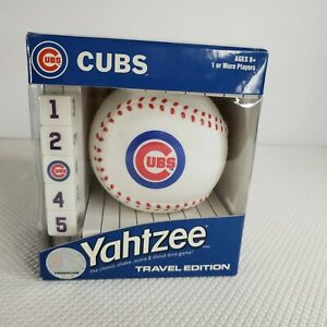 New-MLB-Chicago-Cubs-Yahtzee-Travel-Game
