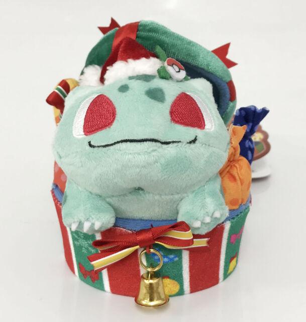 20a419d5 Pokemon Center Original Plush Doll Mascot Christmas 2018 Bulbasaur  4521329251660