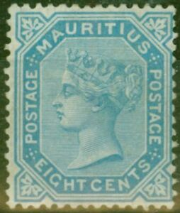 Mauritius-1880-8c-Blue-SG94-Good-Mtd-Mint