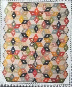 Black-Diamond-Quilt-pieced-quilt-PATTERN-American-Jane