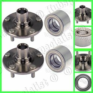 Front Wheel Hub And Bearing Assembly Kit for Toyota Rav4 2001-2005 PAIR TWO