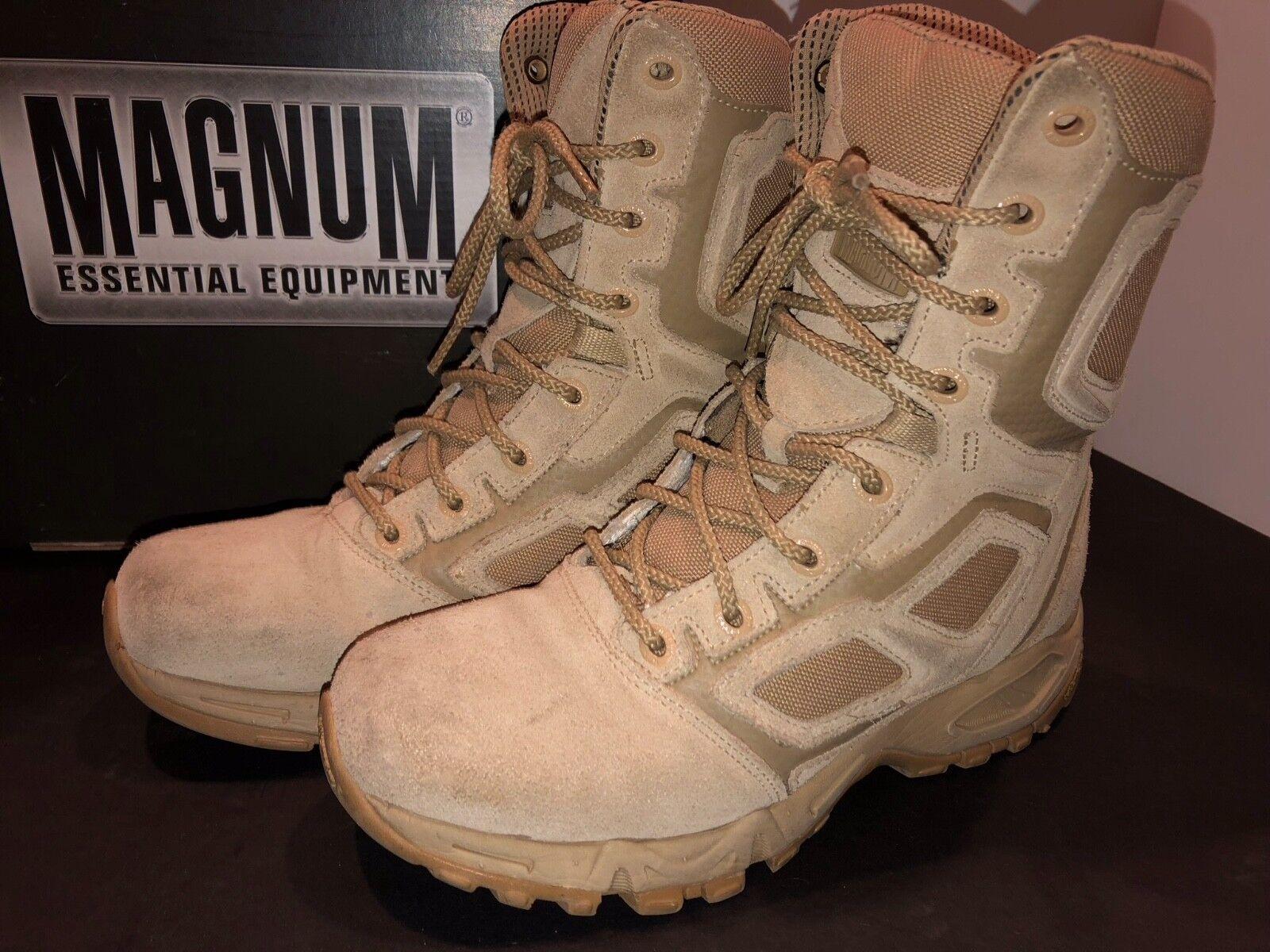 Magnum Elite Spider 8.0 Wos Desierto Tan Tan Desierto Tácticos Ejército botas De Combate Militar-SZ-7 edc723