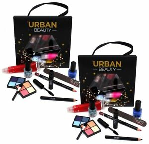 Lucky Dip Make Up Set Bag Beauty Cosmetic Eye Shadow Blusher Lipstick Eyes Lip