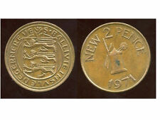 ROYAUME UNI (  guernesey )  2 two pence 1971  ( bis )