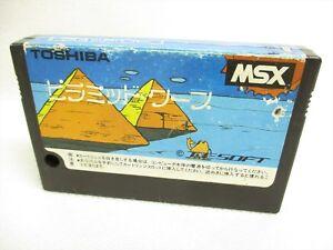 MSX-PYRAMID-WARP-Cartridge-only-Import-Japan-Video-Game-msx