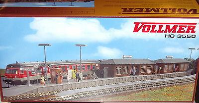 Vollmer 43537 HO Bahnsteig Kreuzeck #NEU in OVP#