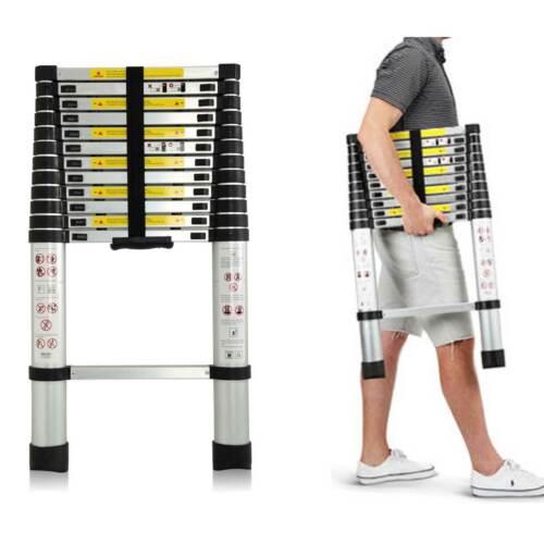 Aluminum Telescopic Stairs Attic Ladder Folding Retractable Heavy Duty 3.2m-5m