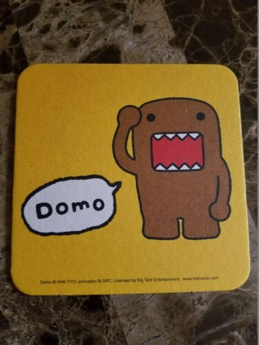 Domo Kun Licensed Beverage Coasters Set of 8 Buy 1 Get 2 Domo Items FREE