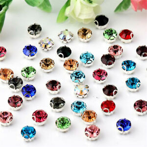 100pcs-4mm-sew-on-crystal-glass-D-claw-rhinestones-loose-beads-diy-dress-making
