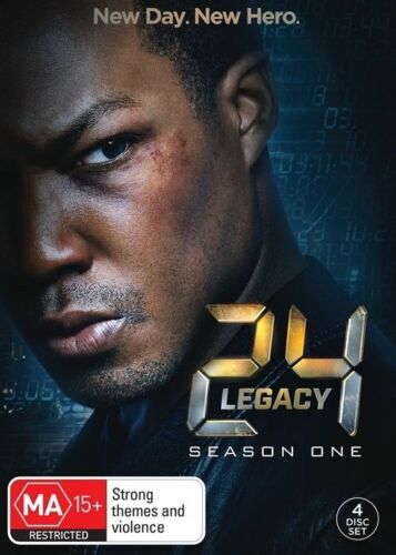 1 of 1 - 24 Legacy Season 1 (DVD, 2017, 3-Disc Set). NEW SEALED REGION 4