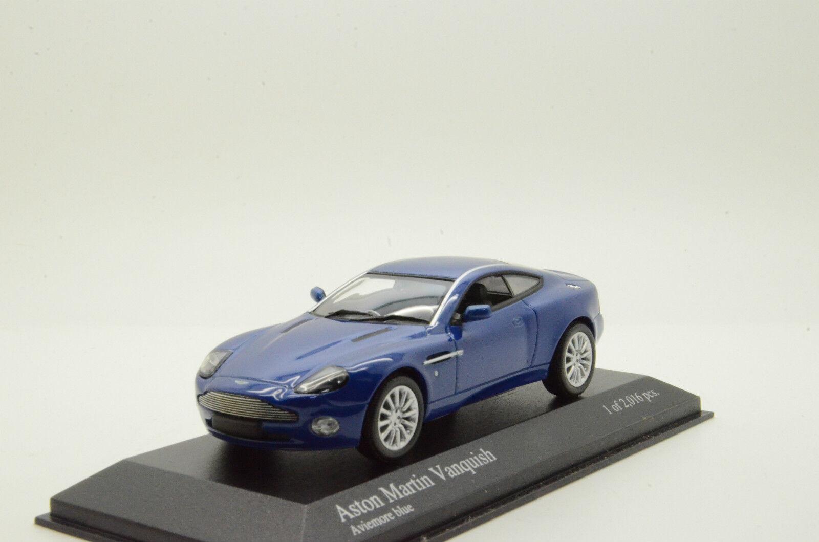 RARE    Aston Martin Vanquish 2002 Minichamps 137225 1 43