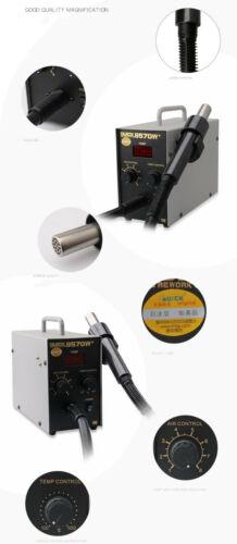 110V//220V 580W 857DW Adjustable Hot Air Heat Gun SMD Soldering Rework Station