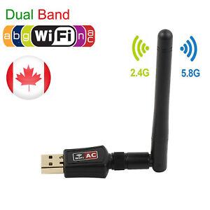 600Mbps-2-4-5Ghz-Dual-Band-Wireless-USB-WiFi-Network-Adapter-802-11AC-w-Antenna