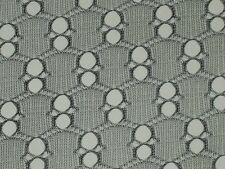 Black eyelet lace fabric open airy nylon poly blend material By the yard x 53""