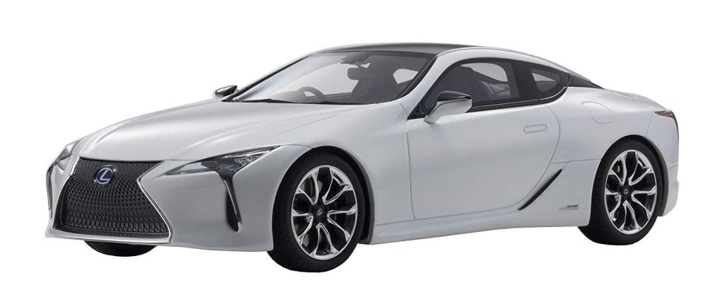 Lexus LC500H Blanc 1 18 Échelle Kyosho KSR18024W
