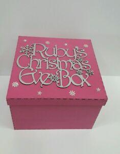 Personalised-Vigilia-di-Natale-di-ragazze-regalo-di-Natale-grande-30cm-x-30cm-x-20cm