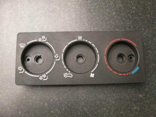 Negro Y Gris PH1 /& PH2 Peugeot 205//309 GTI centro Dial de control Calentador Panel