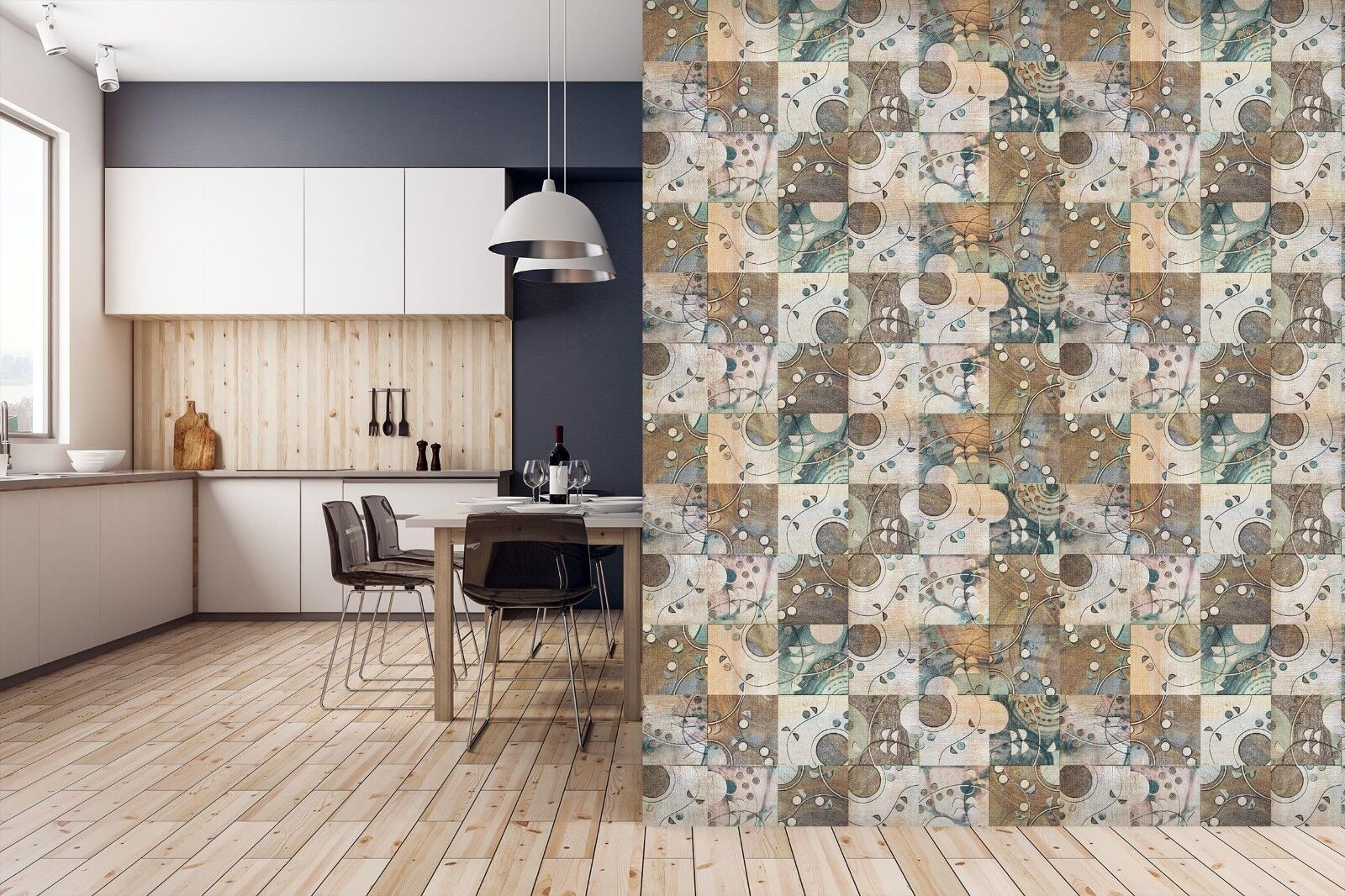 3D Irregular Pattern 7 Texture Tiles Marble Wall Paper Decal Wallpaper Mural AJ