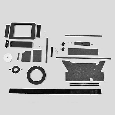 AMC 64-69 NON AC Heater Box Restoration Rebuild Kit American Rambler DMT