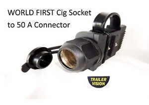 Cig-Adaptor-to-a-Trailer-Vision-50-amp-conector-Cover-Assembly