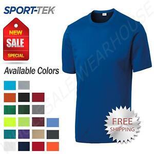 Sport-Tek-Men-039-s-Dri-Fit-PosiCharge-Workout-S-4XL-Big-Tall-T-Shirt-M-TST350