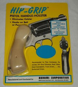 Details about Barami Hip-Grip  38 Smith & Wesson Round Butt Medium Or K  Frame 85 D - Ivory