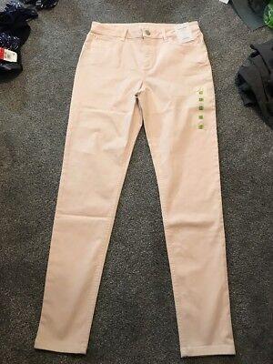 M/&s Dark Blue Mid Rise Slim Jeans Pants Size 16 Long Bnwt Free Sameday P/&p