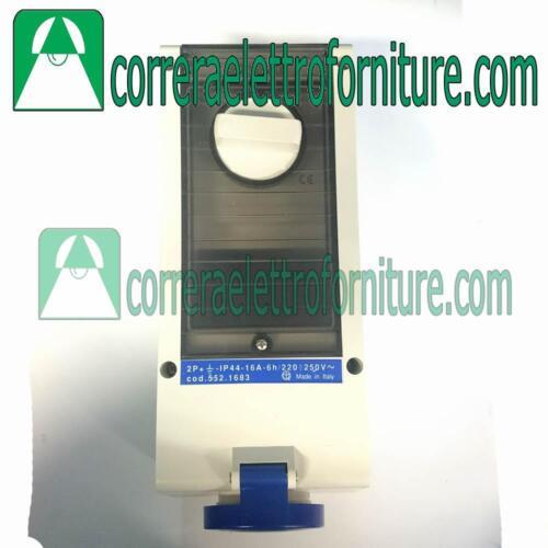 Presa interbloccata Din 2P+T 16A IP44 SCAME 5521683