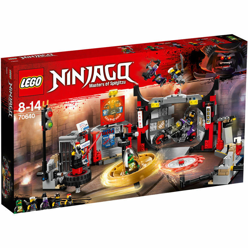 70640 LEGO Ninjago S.O.G. Headquarters 530 Pieces Age 8+ New Release For 2018