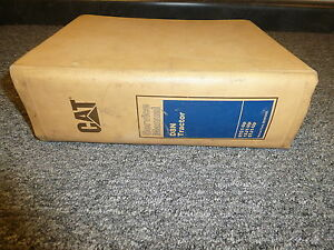 caterpillar cat d8n tractor crawler shop service repair manual book rh ebay com Caterpillar Tractors D8 Caterpillar Weight
