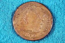ESTATE FIND 1809 CLASSIC HEAD Half Cent!! #G1865