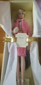 PREFERABLY-PINK-BARBIE-Doll-Fashion-Model-SILKSTONE-Gold-Label-2007-M4969-NEW