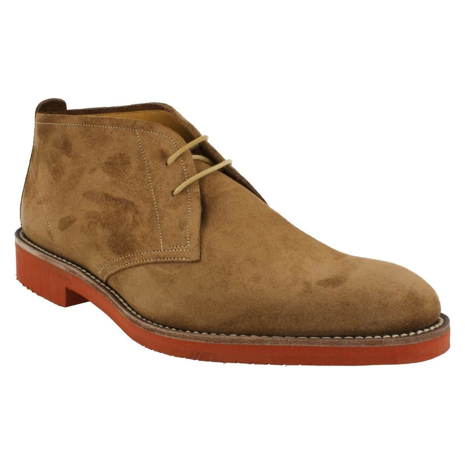 MENS LOAKE SHOES LACE UP BROWN SUEDE CASUAL EVERYDAY EVERYDAY EVERYDAY DESERT ANKLE BOOTS LENNOX a9f4a1