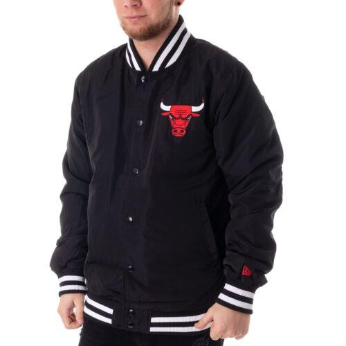 New Era Chicago Bulls Veste Hommes Veste de Collège Noir 43404