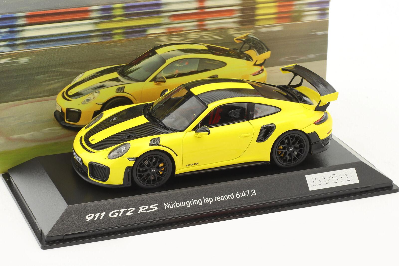 Porsche 911 (991 II) GT2 Rs Rundenrekord Nürburgring 2017 6: 47,3 Min 1:43 Spark | Ingénieux Et Pratique