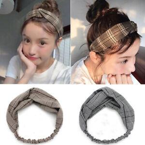Fashion-Women-Turban-Twist-Knot-Head-Wrap-Headband-Elastic-Striped-Hair-Bands