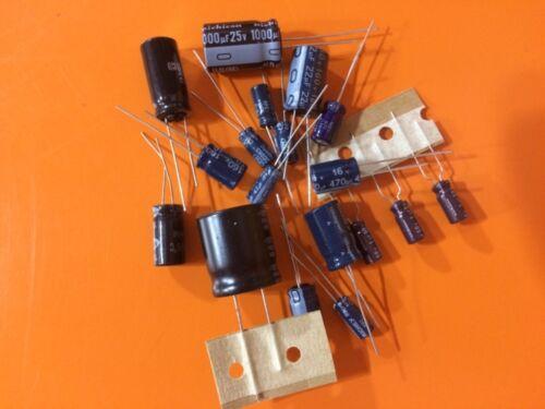 Wells Gardner K5515 Cap Kit Get Well Kit for Monitor Repair