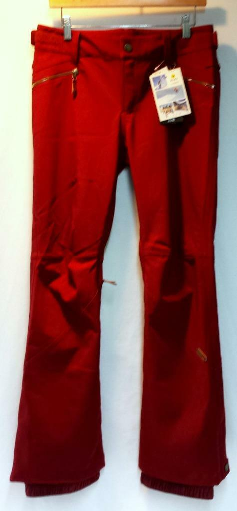 Roxy Women's Spring Break Snowboard Winter Pant Rhubarb Size Ladies Small NEW