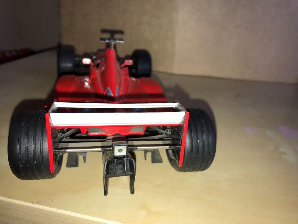 Modelbil, Hotweels Ferrari f399, skala 1:18