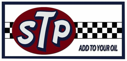 Gift for Mechanic or mancave STP  Oil Sign shed etc Tin Plaque