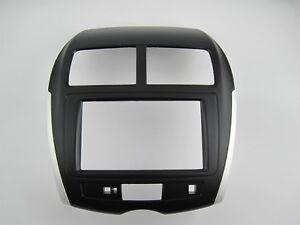 Fascia-for-Mitsubishi-ASX-RVR-facia-plate-panel-dash-kit-radio-cover-install-kit