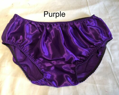 "10 Colours Soft Satin Panties For Men to 44""-46"""