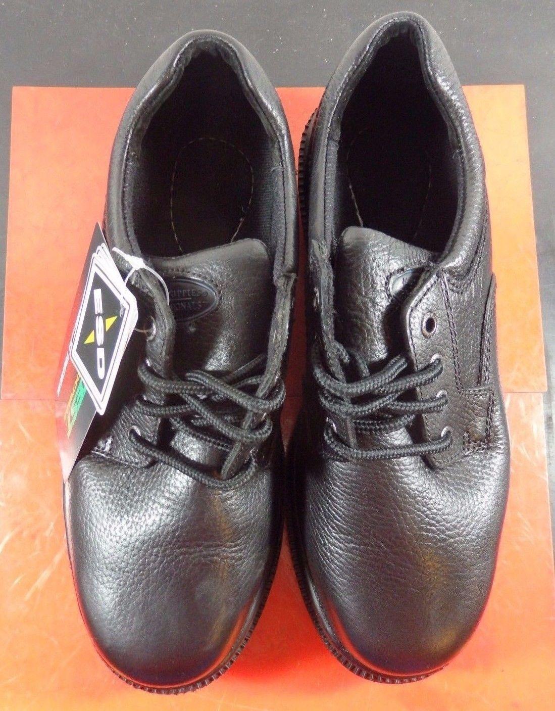 nuovi prodotti novità Hytest Hush Puppies Work scarpe scarpe scarpe nero Steel Toe Donna 6.5 W K37023  nuova esclusiva di fascia alta