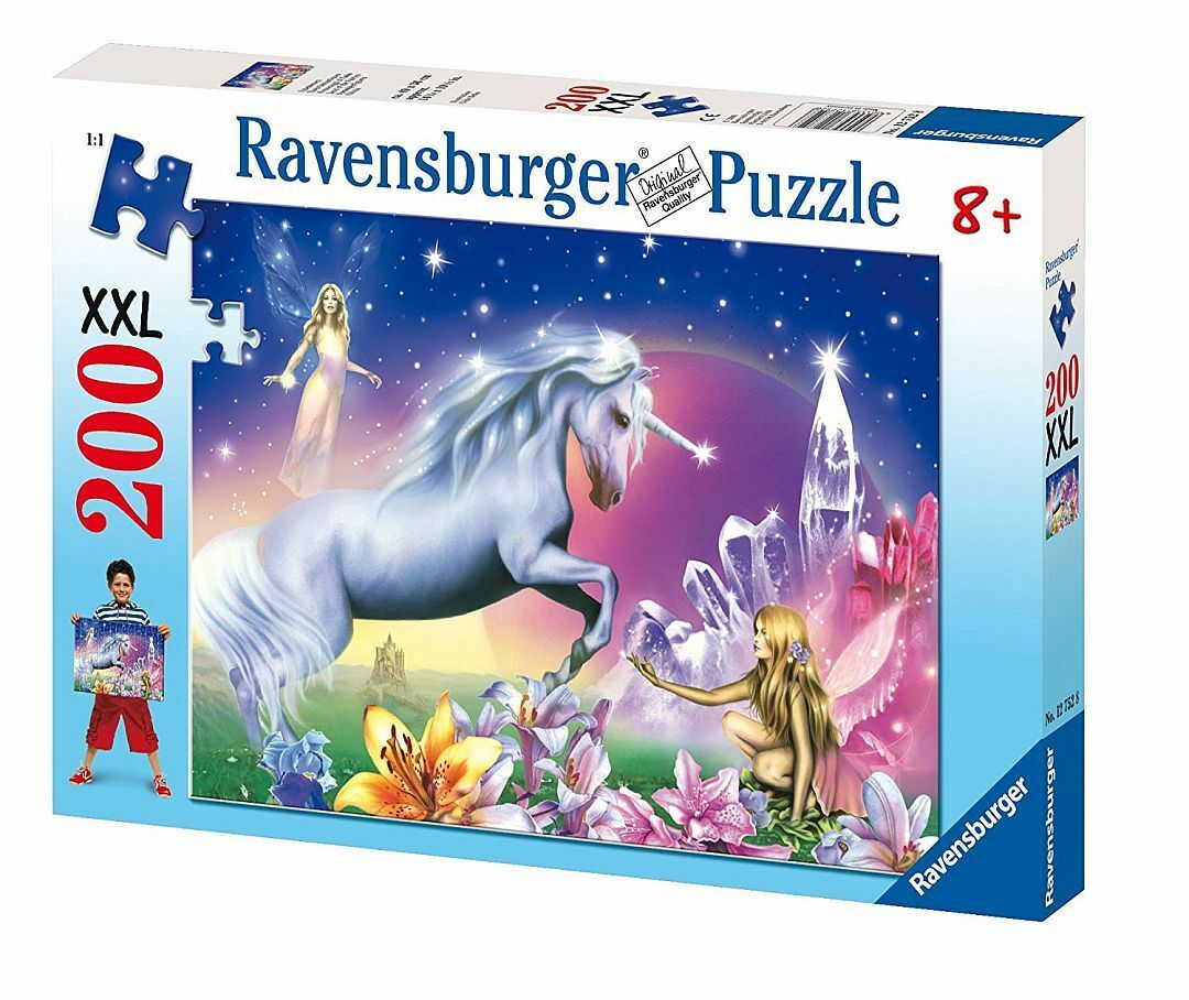 Ravensburger Puzzle Kinderpuzzles Fairy Unicorn Mythical Creatures 200 Share XXL