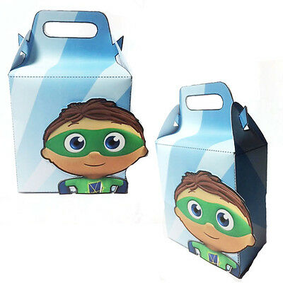 Super Why Treat Boxes Set of 8